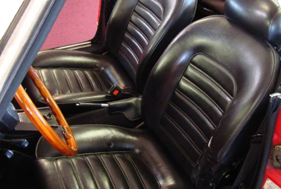 Alfa Spider Seat on Alfa Romeo Spider Seats