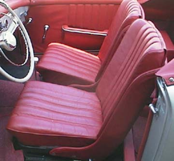 Seat Upholstery Carpet Sets Converitble Tops Headliners